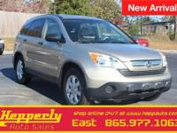 This 2008 Honda CR-V EX in Borrego Beige Metallic