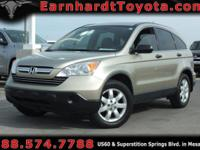 We are happy to offer you this 1-OWNER 2008 HONDA CR-V