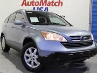 This 2008 Honda CR-V w/ leather, htd seats, sunroof,