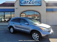2008 HONDA CR-V EX-L - 4 Wheel Drive - Glacier Blue