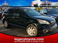 Clean CARFAX. New Price! LEATHER, POWER SUNROOF, CR-V