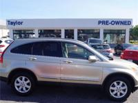 CarFax 1-Owner, This 2008 Honda CR-V EX-L will sell