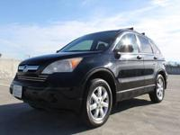 Options:  2008 Honda Cr-V Lx 4Dr Suv|Black|2-Stage