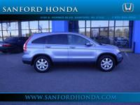 CR-V EX-L Honda Certified 5-Speed Automatic AWD and