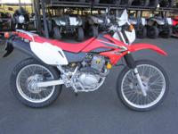 On paved roads or dirt roads the brand new CRF230L