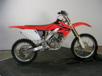 2008 Honda CRF250R this bike misbehaves to the bone.