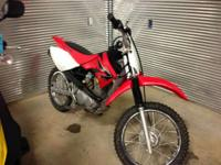 Bikes Off-Road 6359 PSN. 2008 Honda CRF80F COME CHECK
