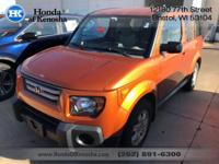 Recent Arrival! 2008 Honda Element EX AWD 5-Speed