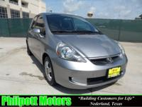 Options Included: N/A2008 Honda Fit, silver with black