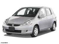 We are excited to offer this 2008 Honda Fit. CARFAX