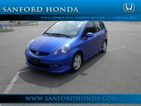 Options Included: N/AStick shift! One-owner! HONDA