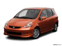 Recent Arrival! 2008 Honda Fit Sport FWD 5-Speed