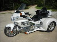 2008 Honda GL1800 Gold Wing. 2008 Honda Gold Wing 1800.