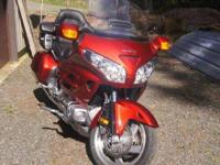2008 Honda GL1800 Goldwing ABS. Beautiful 2008 Honda