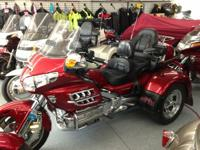 2008 Honda GL1800AD Gold Wing AMERICAN TRIKES AND
