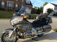Premium Model 2008 Honda Goldwing with 23,000 miles in
