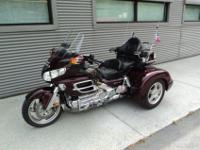 This 2008 Gl1800HPNM8 Gold Wing Trike was recently