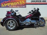 2008 Honda Goldwing 1800 Triple with comfort package.