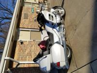 2008 Honda goldwing 1800 navigation reverse 4600 miles