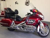 2008 Honda Goldwing, 17,000 miles with $7500 in