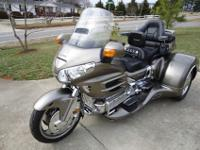 2008 Honda Goldwing GL1800 Trike with California Side
