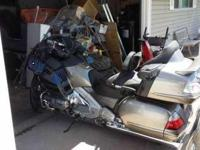 2008 Honda Goldwing in Excellent Condition- - Metallic