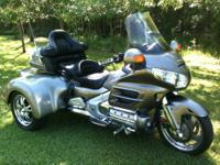 Custom built 2008 Honda Goldwing Trike for sale by