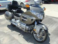 UP FOR AUCTION IS A 2008 HONDA GOLDWING MOTORCYCLE.SOME