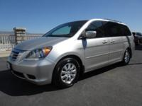 As people movers go, our 2008 Honda Odyssey EX looks to