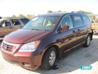 Options Included: N/AHonda Odyssey EX V6 3.5L auto -