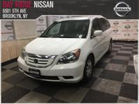 Check out this gently-used 2008 Honda Odyssey we