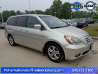 This 2008 Odyssey has a clean CARFAX and has been well