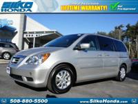 Spotless One-Owner! At Silko Honda! This Odyssey was