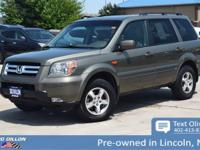 Sturdy and dependable, this 2008 Honda Pilot EX-L makes