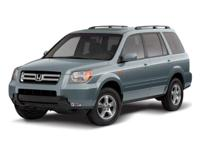 Bold and beautiful, this 2008 Honda Pilot will envelope