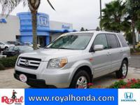 Options:  2008 Honda Pilot Vp 2Wd|This Vehicle Has A