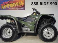 2008 Honda Racher 420 4x4 electric shift ATV for sale