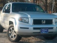2008 Honda Ridgeline, Billet Silver Metallic, One