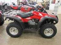 2008 Honda Rincon 680 Auto 4x4 (TRX680FA) runs out