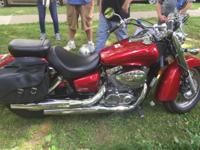 2008 Honda Shadow Aero, approx. 4100 miles at this