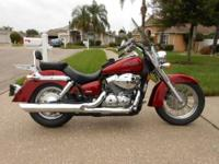 Beautiful 08 Honda Shadow Spirit VT 750, Bobbed fenders