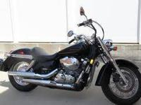 2008 honda shadow, black, less than 3000 miles in
