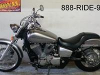 2008 Honda Shadow Spirit 750 motorcycle for sale.