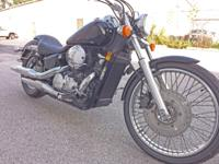 Low mileage Honda Shadow,Very good condition,with