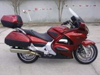 I currently have a 2008 Honda ST 1300 ABS for sale.