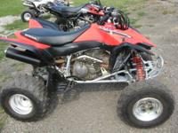 We are selling a 2008 Honda TRX400EX ATV for