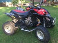 For sale this 2008 TRX700XX w/ many aftermarket