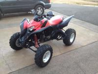 Selling my 08 Honda TRX 700XX ATV. This quad is in