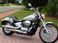 2008 HONDA VT750C2 SHADOW SPIRIT 750A classic 45-degree