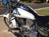 2008 Honda VTX1300R (Retro) Color: Pearl White Mileage: